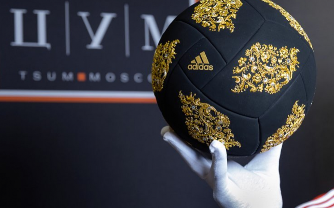 Celebrate Russia's World Cup With This Exclusive Luxurious Ball