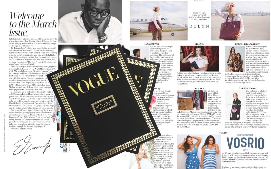 Gyllium Featured in British Vogue