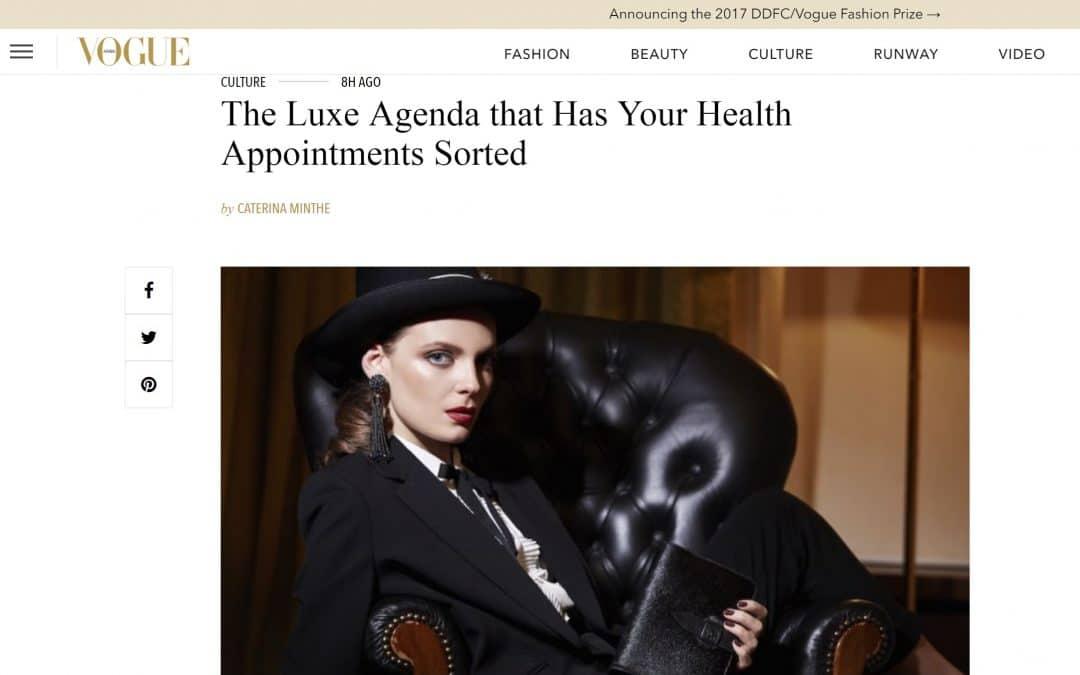 Vogue Arabia spotted GYLLIUM